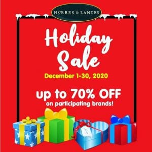 Hobbes & Landes - Holiday Sale: Up to 70% Off