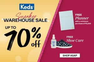 Keds - Sneaker Warehouse Sale: Up to 70% Off