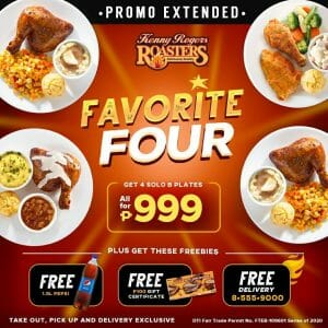 Kenny Rogers - Extended: Favorite Four Promo for ₱999