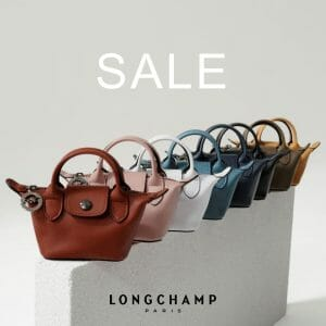 Longchamp - End of Season Sale at Rustan's: Up to 50% Off