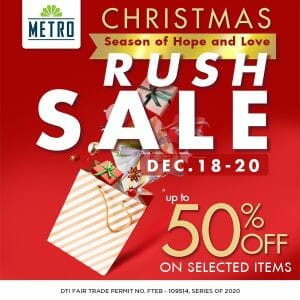 The Metro Stores - Rush Sale: Up to 50% Off