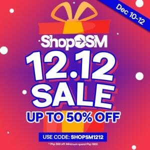 Shop SM - 12.12 Deal: Up to 50% Off