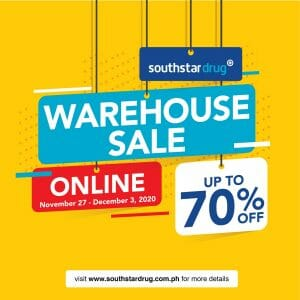 Southstar Drug - Online Warehouse Sale: Up to 70% Off