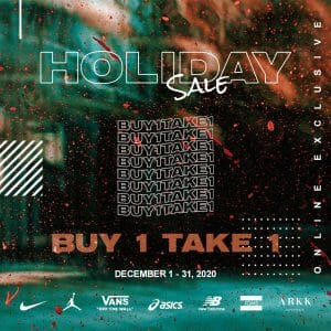 The Playground Premium Outlet - Holiday Sale: Buy 1, Take 1 Promo