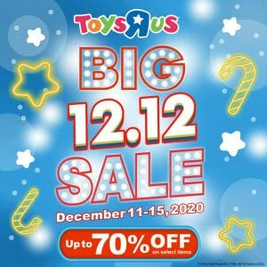 """Toys """"R"""" Us - 12.12 Deal: Up to 70% Off on Select Items"""