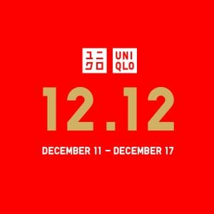 Uniqlo - 12.12 Deal: Limited Offer Prices and Exclusive Gifts