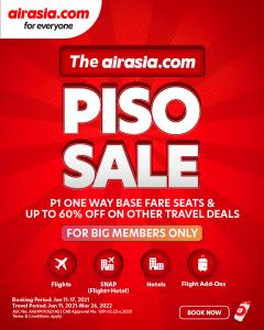 Air Asia - PISO Sale (For Big Members)