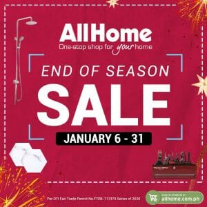 AllHome - End of Season Sale: Up to 70% Off and Easy Payment Terms
