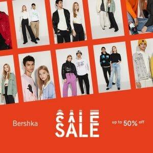 Bershka - End of Season Sale: Up to 50% Off