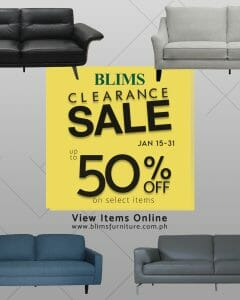 BLIMS - Clearance Sale: Up to 50% Off on Select Items