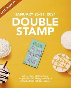 Coffee Bean & Tea Leaf - Double Stamp Promo
