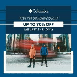 Columbia Sportswear - End of Season Sale: Up to 70% Off