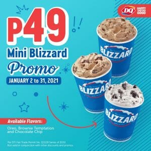 Dairy Queen - Mini Blizzard for ₱49