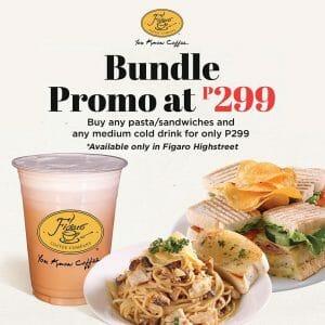 Figaro Coffee - Bundle Promo at ₱299