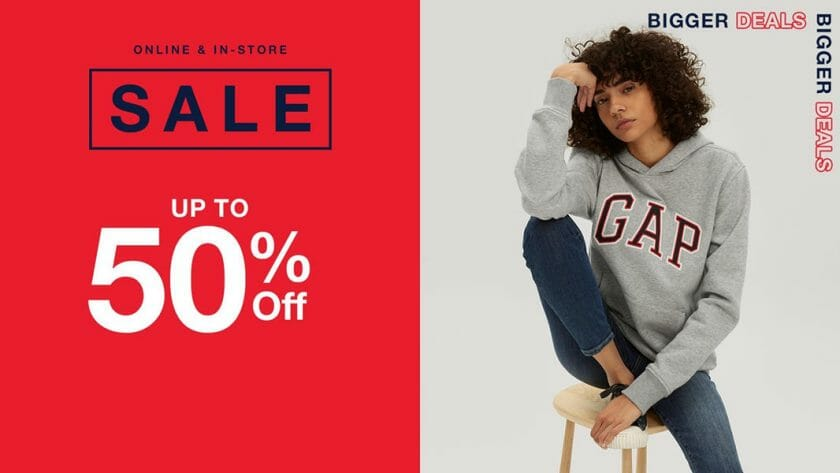 Gap - Get Up to 50% Off on Select Items