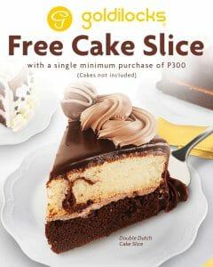 Goldilocks - FREE Cake Slice Promo