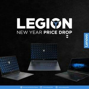 Lenovo Legion - New Year Price Drop Promo: Up to ₱45,000 Off