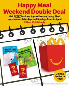 McDonald's - Happy Meal Weekend Double Deal