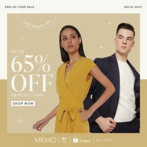 Memo - End of Year Sale: Get Up to 65% Off on Select Items