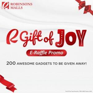 Robinsons Mall - Gift of Joy E-Raffle Promo