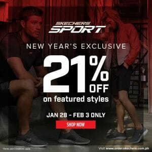 Skechers - New Year's Exclusive: Get 21% Off on Featured Styles