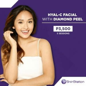 SkinStation - Hyal-C Facial + Diamond Peel Month-End Sale