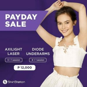 SkinStation - Payday Sale: Axilight Laser and Diode Underarms Sessions for ₱12,000