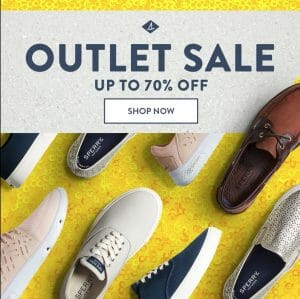 Sperry - Outlet Sale: Up to 70% Off
