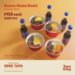 Tapa King - Buena Mano Deals for ₱159 (Save ₱45)