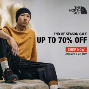 The North Face - End of Season Sale: Up to 70% Off
