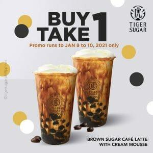 Tiger Sugar Buy 1 Take 1 Brown Sugar Café Latte
