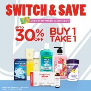 Watsons - Switch & Save Promo