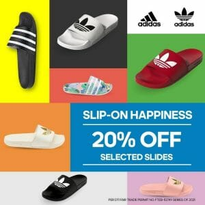 Adidas - Slides Week: Get 20% Off on Selected Items