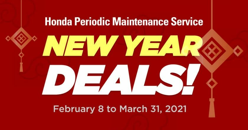 Honda Cars - Periodic Maintenance Service Deals
