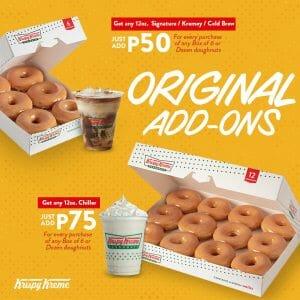 Krispy Kreme - Original Add-Ons Promo