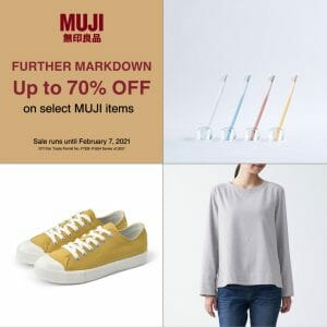 MUJI - End of Season Sale: Up to 70% Off on Select Items