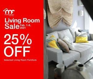 Mandaue Foam - Living Room Sale: Get 25% Off