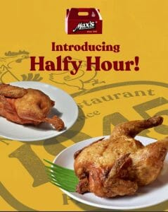 Max's Restaurant - Get an Extra Half-Order for Every Whole Item Order