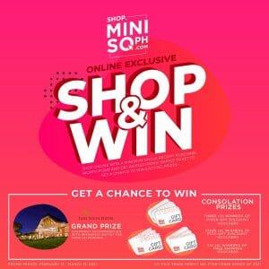 Miniso - Online Exclusive Shop & Win Contest