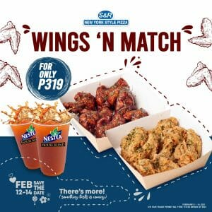 S&R - Wings 'N Match Promo