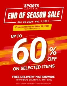 Sports Central - End of Season Sale: Up to 60% Off on Selected Items