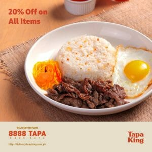 Tapa King - Get 20% Off on All Items