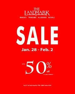 Landmark - Mall Sale: Get Up to 50% Off