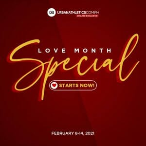Urban Athletics - Love Month Special: Nike Cortez and Slides Promos