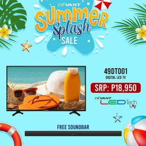 Devant - Summer Splash Sale: Get a FREE Soundbar for Select Digital LED TV Purchase