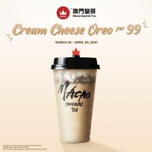 Macao Imperial Tea - Cream Cheese Oreo for ₱99 Promo