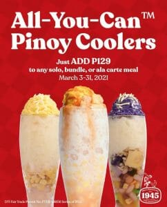 Max's Restaurant - All-You-Can Pinoy Coolers Promo