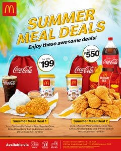 McDonald's - Summer Meal Deals Promo