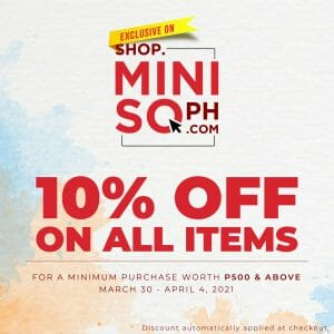 Miniso - Get 10% Off on All Items