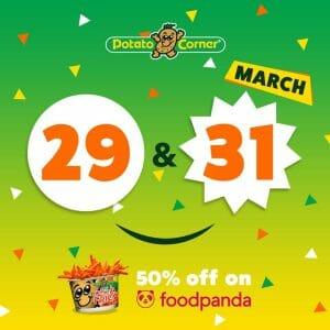 Potato Corner - Epic Deals: Get 50% Off via Foodpanda